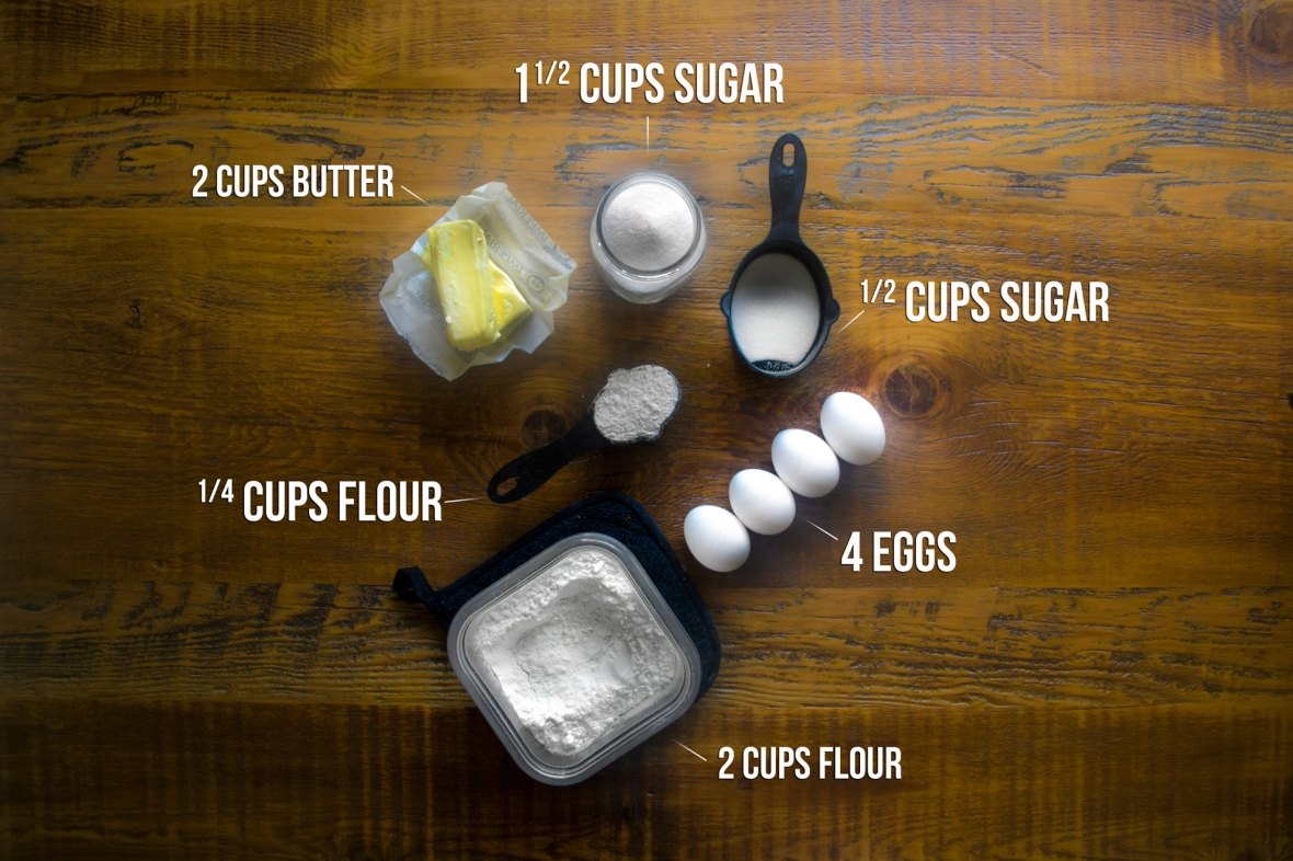 Separate Ingredients & Squeeze Lemon Juice